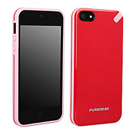 Pure Gear Pure Gear Slim Shell Case for iPhone 5s/5 Strawberry Rhubarb ALL SALES FINAL - NO RETURNS OR EXCHANGES