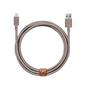 Native Union Native Union Braided Lightning Belt Cable, 3m - Taupe