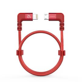 Adam Elements Adam Elements PeAk II Fleet LMB L30BD Lightning to Micro USB Cable for DJI Spark/Mavic Pro Red