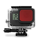 GoPro GoPro Blue Water Snorkel Filter for HERO7/6/5 Black + HERO 2018 ONLY (DISCONTINUED)