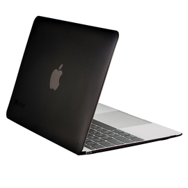 """Speck Speck See Thru Glossy Finish Case for MacBook 12"""" Onyx Black"""
