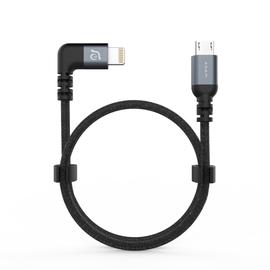 Adam Elements Adam Elements PeAk II Fleet LMB L30BD 90º Lightning to Micro USB Cable for DJI Spark/Mavic Pro Red