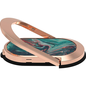 Candywirez Candywirez Magnetic Oval Ring Stand for Phone cases - Aqua Agate