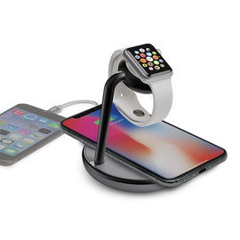 Kanex Kanex GoPower Watch Stand with Qi Wireless Charging Pad - Black