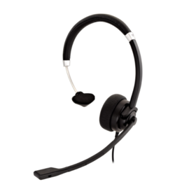 V7 V7 Deluxe Mono Headset with Boom Mic 3.5mm