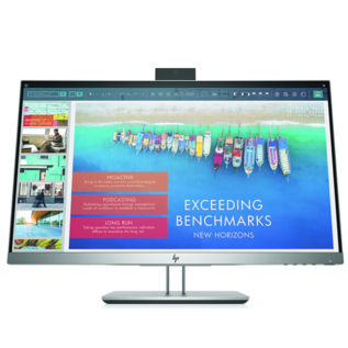 HP HP EliteDisplay E243d 23.8-inch Docking Monitor - 1920 x 1080, integrated webcam, HDMI, USB-C, VGA, 3 year warranty