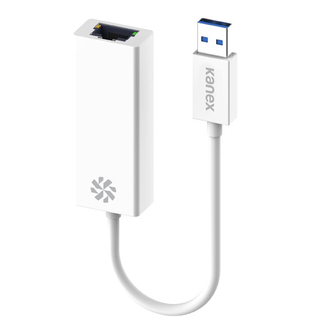 Kanex Kanex USB 3.0 to Gigabit Ethernet White
