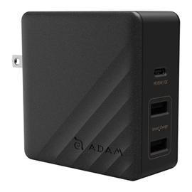 Adam Elements Adam Elements Omnia 6 Port Charging Station - 1 USB-C, 1 QC USB 3.0 , 4 USB Ports - Silver