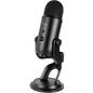 Logitech Logitech Blue Microphone Yeti Multi-Pattern Electret Condenser Microphone Blackout