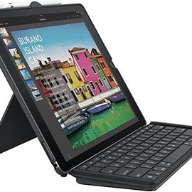 "Logitech Logitech Slim Combo Keyboard and Folio Case for 12.9""  iPad Pro 1st/2nd  gen ONLY (Black)"