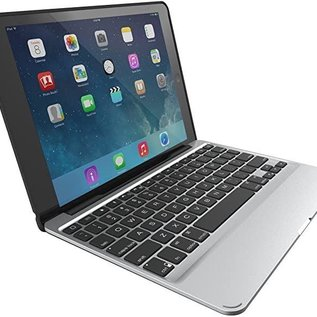ZAGG ZAGG Slim Book Wireless Keyboard Case w/backlit  for iPad Mini 2/3 Black