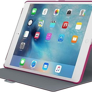 Speck Speck StyleFolio Case for iPad Pro 12.9 (2015 ONLY) Fushia Pink/Nickel Grey ALL SALES FINAL NO RETURNS OR EXCHANGES