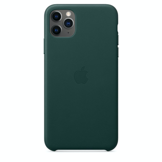 Apple Apple Leather Case for iPhone 11 Pro Max - Forest Green (ATO)