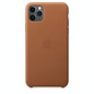 Apple Apple Leather Case for iPhone 11 Pro Max - Saddle Brown
