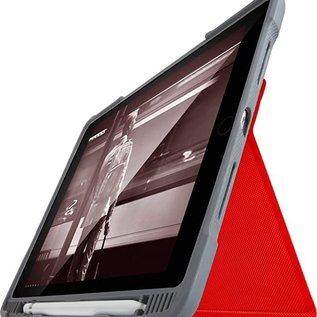 """STM STM DUX Plus Case for iPad 9.7"""" (6/5 gen) Red"""