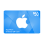 iTunes Apple iTunes US$50 Gift Code (US app and iTunes store only and non-returnable. Click here to review the terms & conditions)