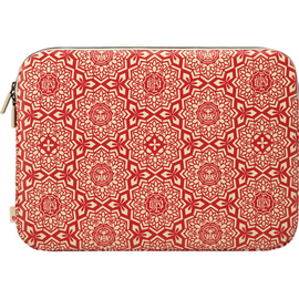 Incase Incase Shepard Fairey Coated Canvas Sleeve for MacBook Pro 15'' Yen Pattern Red (While Supplies Last)