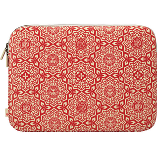 Incase Incase Shepard Fairey Coated Canvas Sleeve for MacBook Pro 15'' Yen Pattern Red