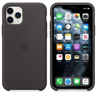 Apple Apple Silicone Case for iPhone 11 Pro - Black
