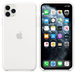 Apple Apple Silicone Case for iPhone 11 Pro Max - White