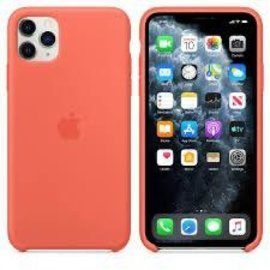 Apple Apple Silicone Case for iPhone 11 Pro Max - Clementine Orange