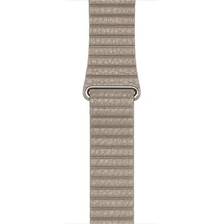 Apple Apple Watch Band 42mm Stone Leather Loop - Medium 150-185mm (While Supplies Last)