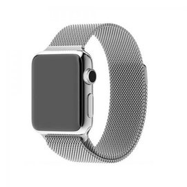 Apple Apple Watch Band 42/44mm Milanese Loop Band Silver 140-210mm (ATO)