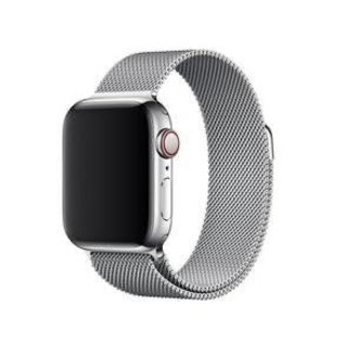 Apple Apple Watch Band 38/40mm Milanese Loop Band Silver 130-200mm (ATO)