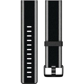 Fitbit Fitbit Versa Accessory Band Woven Hybrid Large Black/Gray
