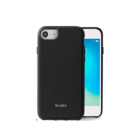 Evutec Evutec AERGO Ballistic Nylon Case w/Vent Mount iPhone 8/7/6s/6 Black