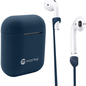 mworks! mworks! mCASE! Airpods Pro Case Skin and Straps Bundle - Navy (NOT COMPATIBLE WITH REGULAR AIRPODS)