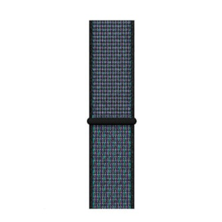 Apple Apple Watch Band 38/40mm Black/Hyper Grape Nike Sport Loop Band 130-190mm (WSL)