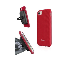 Evutec Evutec AERGO Ballistic Nylon Case w/Vent Mount iPhone 8/7/6s/6 Red