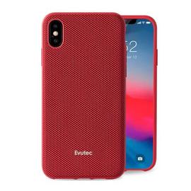 Evutec Evutec AERGO Ballistic Nylon Case w/Vent Mount iPhone Xs Max Red