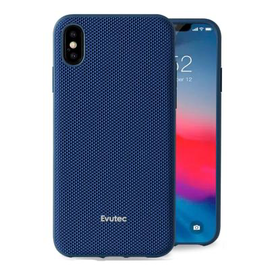 Evutec Evutec AERGO Ballistic Nylon Case w/Vent Mount iPhone Xs Max Blue