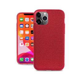 Evutec Evutec AERGO Ballistic Nylon Case w/Vent Mount iPhone 11 Pro Red