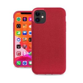 Evutec Evutec AERGO Ballistic Nylon Case w/Vent Mount iPhone 11 Red