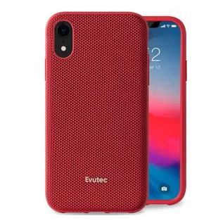 Evutec Evutec AERGO Ballistic Nylon Case w/Vent Mount iPhone XR Red