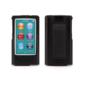 Griffin Griffin 2-1 Silicone Case w/ belt clip for iPod Nano 7/8 Black (WSL)