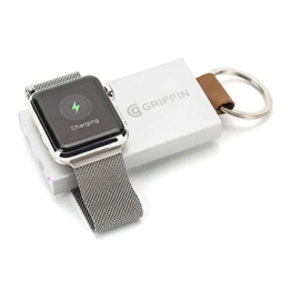 Griffin Griffin Travel Battery Pack for Apple Watches 38mm and 42mm (1050 mAh) Aluminum