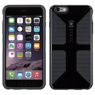 Speck Speck CandyShell Grip Case for iPhone 6 Plus Black/Slate Grey ALL SALES FINAL - NO RETURNS OR EXCHANGES