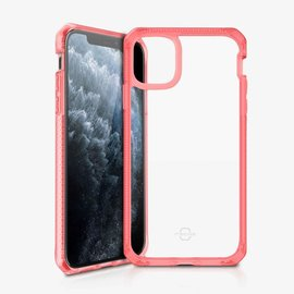 ItSkins ItSkins Hybrid Frost (MKII) Case for iPhone 11 Pro Max - Red/Transparent