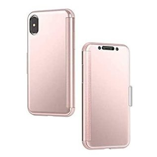 Moshi Moshi StealthCover Portfolio Case for iPhone X/XS - Champagne Pink