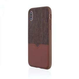 Evutec Evutec Northill Series Leather Case w/ Car Vent Mount for iPhone Xs/X Brigandine/Lava