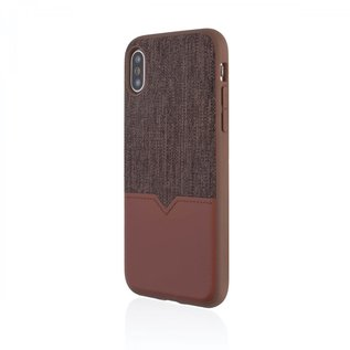 Evutec Evutec Northill Series Leather Case w/ Car Vent Mount for iPhone Xs/X Brigandine/Lava (While Supplies Last)