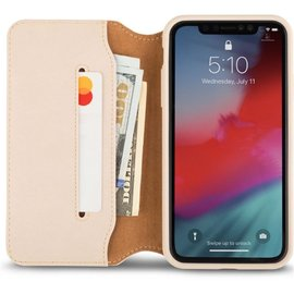 Moshi Moshi Overture Wallet Case for iPhone XR Savanna Beige