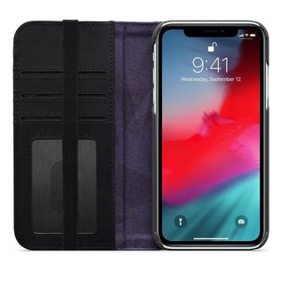 Moshi Moshi Overture Wallet Case for iPhone XR Charcoal Black