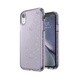 Speck Speck Presidio Clear + Gliiter Case for iPhone XR Geode Purple/Gold Glitter (While Supplies Last)
