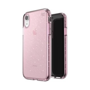 Speck Speck Presidio Clear + Gliiter Case for iPhone XR Bella Pink/Gold Glitter (While Supplies Last)