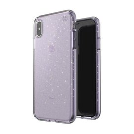 Speck Speck Presidio Clear + Gliiter Case for iPhone Xs Max Geode Purple/Gold Glitter (While Supplies Last)